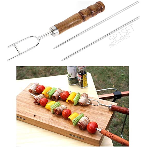 5 pc Tenedor de Carne, para Barbacoa Asar a la Parrilla ...