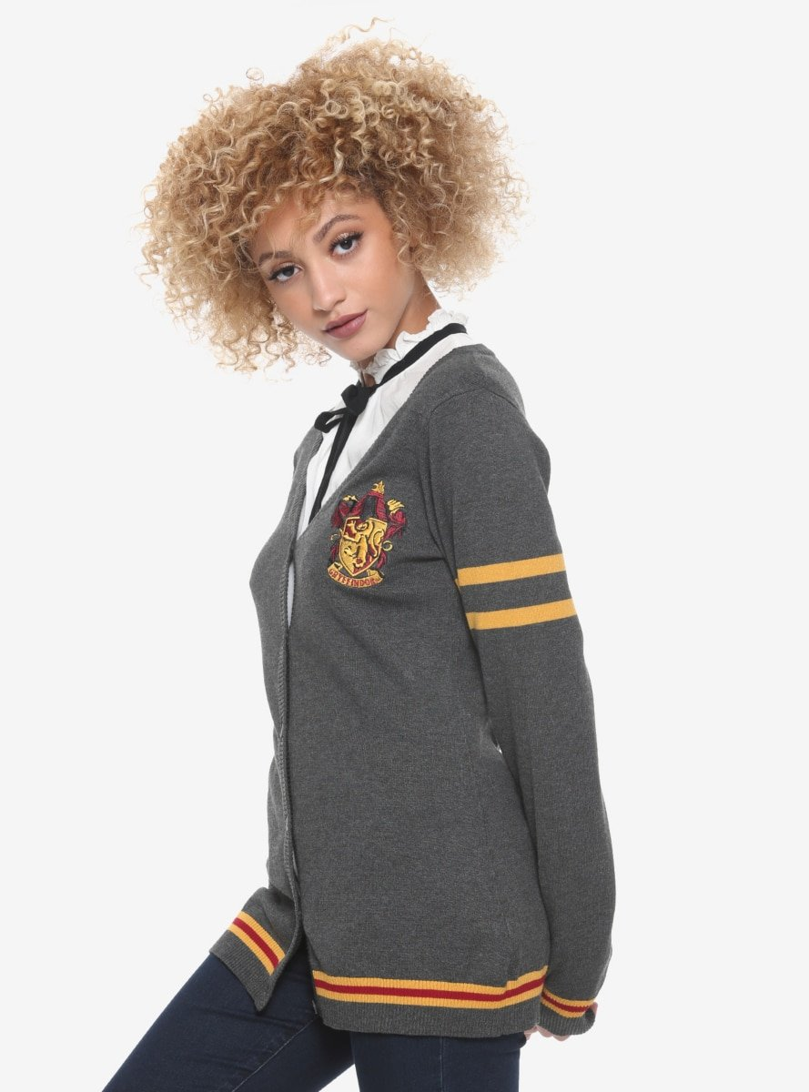 Harry Potter Gryffindor Cardigan Hot Topic