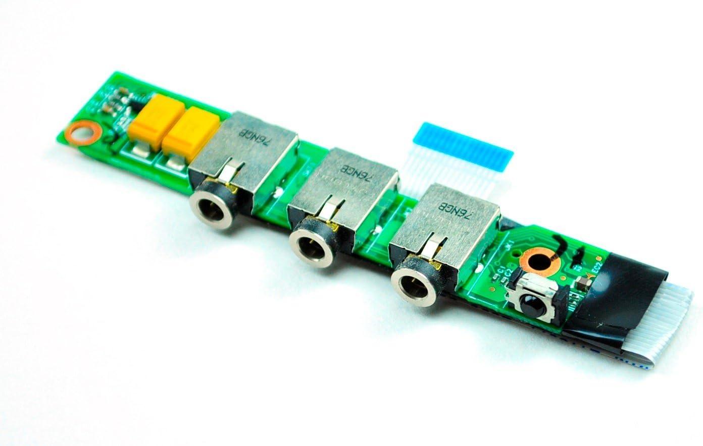 HP Pavilion DV2000 Audio Jack Board w/Cable 50.4F630.003 554S502001G