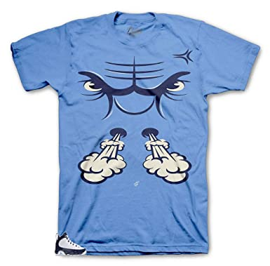 1a060aa614d Tee Shirt Match Jordan 9 UNC All Star - Bullface Sneaker Tee (Small) Light