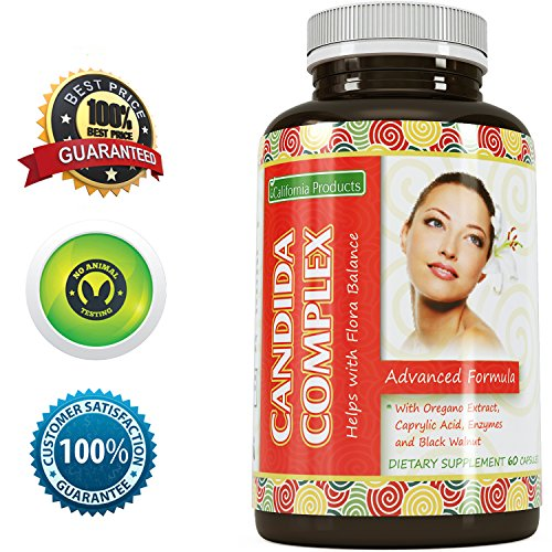 Natural Candida Cleanse Supplement Detoxifies product image