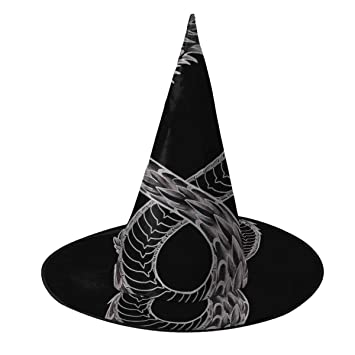 NUJSHF Ouroboros Takeshi Kovacs - Sombrero de Bruja de Carbono con ...