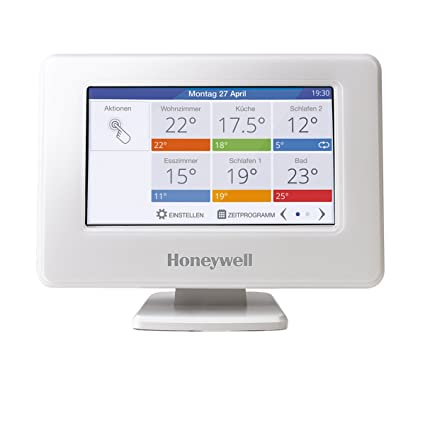 Honeywell evohome Wi-Fi Central Botones dispositivo, 1 pieza, thr99 C3100