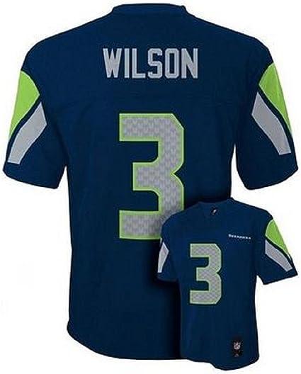 Outerstuff Russell Wilson Seattle Seahawks Infant Navy Jersey