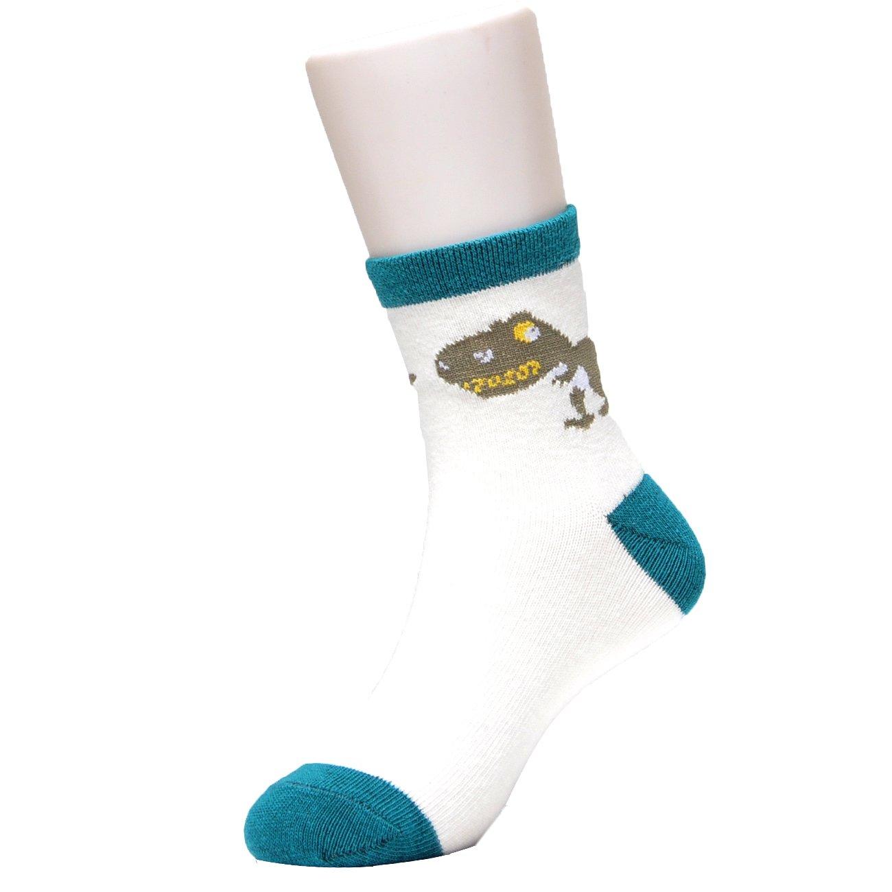 Epeius Kids Boys Cotton Fashion Fun Crew Socks