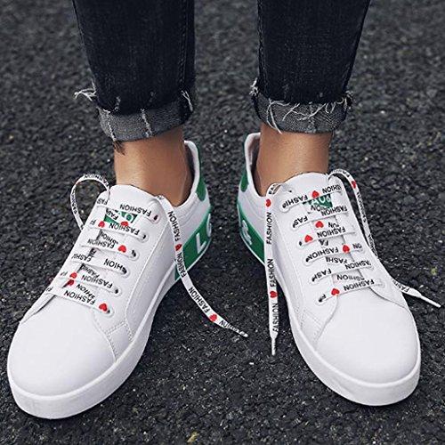 di tela Color 39 Espadrillas tendenza in uomo Green Green estate coreano uomo Scarpe traspirante stile scarpe YaNanHome da basse casual Scarpe uomo da da Size qwgffaF