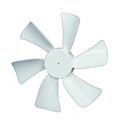"""Ventmate 65491 White 6"""" Replacement Ventline Fan Blade with 0.094"""" Round Bore: Automotive"""