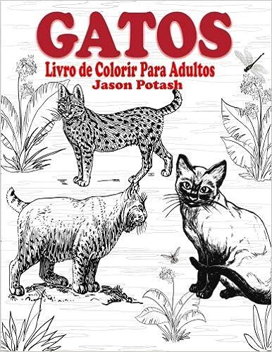 Gatos Livro De Colorir Para Adultos O Alivio De Tensoes Adulto