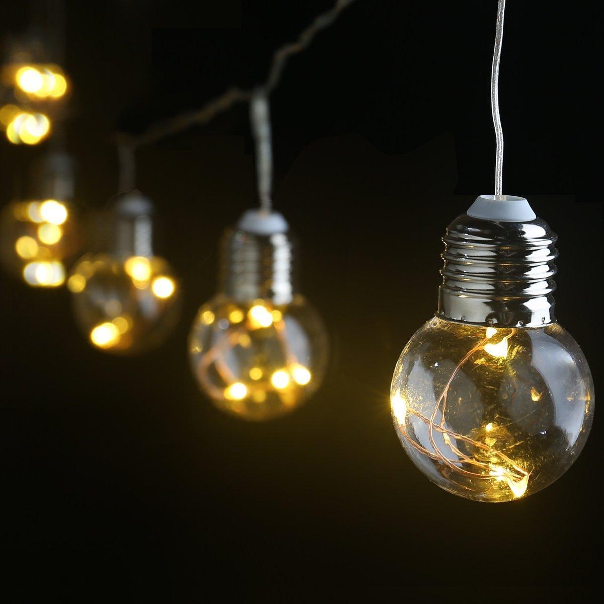 le guirnalda led m bombillas g luces de bajo consumo exterior interior
