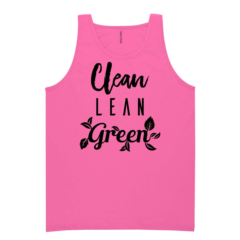 Clean Lean Green Neon Tank Top
