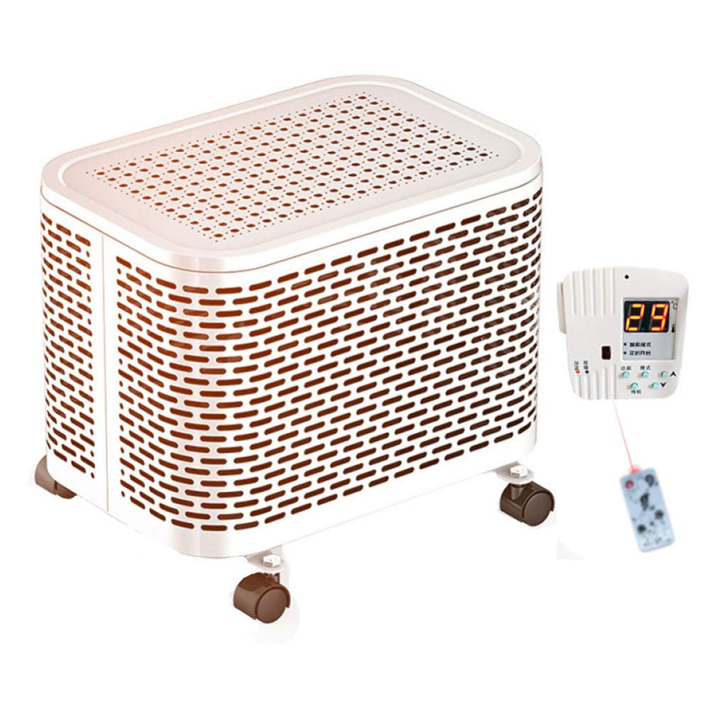 Acquisto CZPF Riscaldatori Elettrici Riscaldatore Elettrico in Ceramica Personale Mini Riscaldatore Elettrico Invernale Riscaldatore Elettrico per Riscaldamento Domestico,Remote-White Prezzi offerte