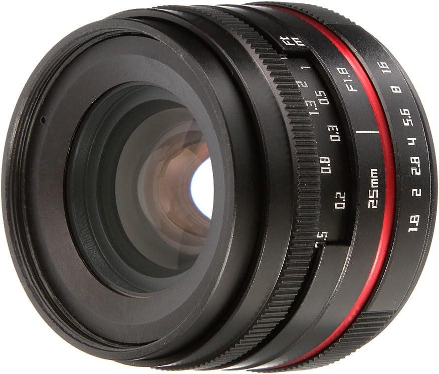 FOTGA 36mm F//1.6 Manual Focus MF Prime Lens for Canon EOS EF-M Mount M M2 M3 M5 M6 M10 M50 M100 DSLR Cameras
