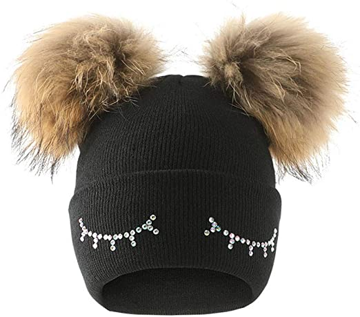 Hairballs Baby Caps Fitted Warm Winter Beanies Accessories Boys Girls Headwears