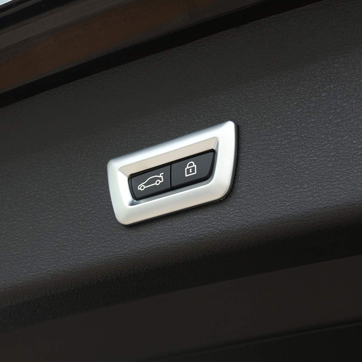 Cadre de commutateur /électrique de coffre en ABS chrom/é pour X1 F48 X3 F25 X4 F26 X5 F15 X6 F16 F30 GT 3 5 7 F10 F07