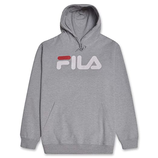 f8c4f84c Fila Mens Big and Tall Premium Pullover Fleece Hoodie Sweatshirt