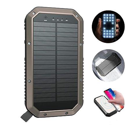 UrChoiceLtd ESHINE 10000mAh Cargador Solar,Solar Portátil ...