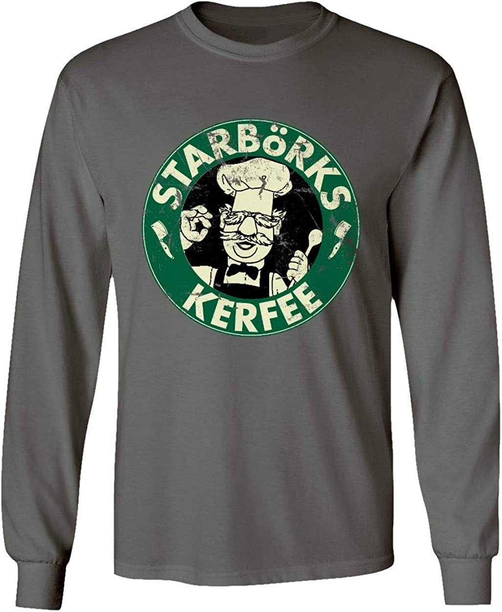 Starborks Kerfee swedish chef T Shirt Mens Tee Gift New From US