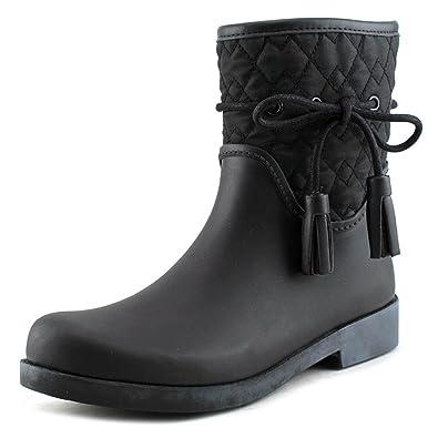 Racyn Women Round Toe Synthetic Rain Boot