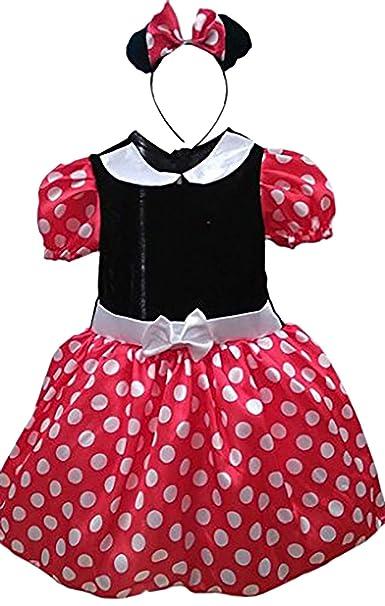 ebcc3d838 Eyekepper Vestido de Tutú de Princesa con Punto de Polka, Lazo y Tul ...