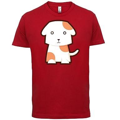 Cute Dog - Herren T-Shirt - Rot - XS