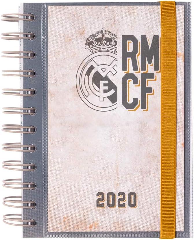 ERIK - Agenda anual 2020 Real Madrid, día página (11,4x16 cm)