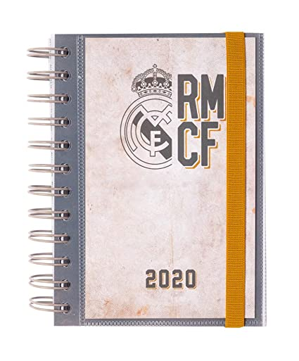 ERIK - Agenda anual 2020 Real Madrid, día página (11,4x16 cm ...