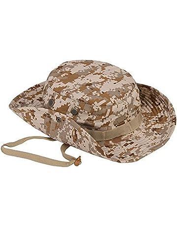 Emorias 1 Pcs Sombrero de Pescador Camuflaje Gorra al Aire Libre Hombre  Protector Solar Gorro Camping 0bcca2392f1f