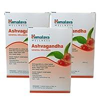 Himalaya Ashvagandha Men's Wellness Tablets - 60 Count (Pack of 3)