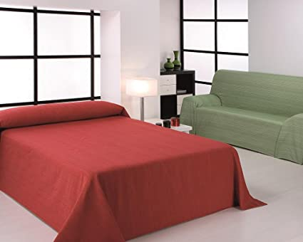 HIPERMANTA Colcha Foulard Multiusos Modelo Ribera para sofá ...