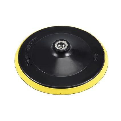4/'/' Plastic Backer Pad Backer Plate 5//8 or M14 Hook Loop Sanding Disc Buff Pad