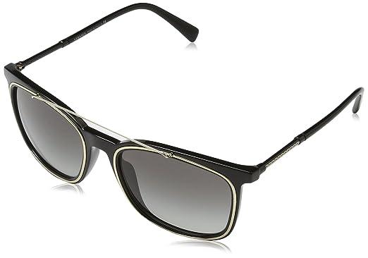 Versace 0VE4335 GB1 11 56, Montures de Lunettes Homme, Noir (Black ... 4b8183235f82