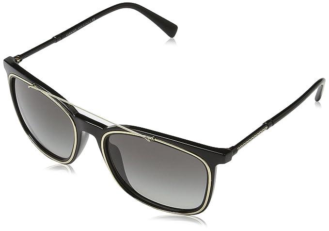 Versace 0Ve4335, Gafas de Sol para Hombre, Black, 56: Amazon ...