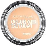 Maybelline Color Tattoo 93 Creme De Nude - eye shadows (Beige, Creme De Nude, Satin, CYCLOPENTASILOXANE, ISODODECANE, POLYPROPYLSILSESQUIOXANE, CERESIN, CYCLOHEXASILOXANE, CAPRYLYL METH)