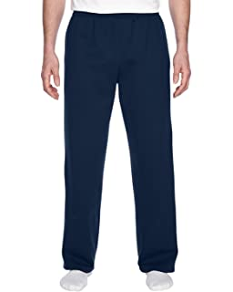 7934a1323cb1f7 Fruit of the Loom Adult 8 oz 50/50 Open Bottom Sweatpants at Amazon ...