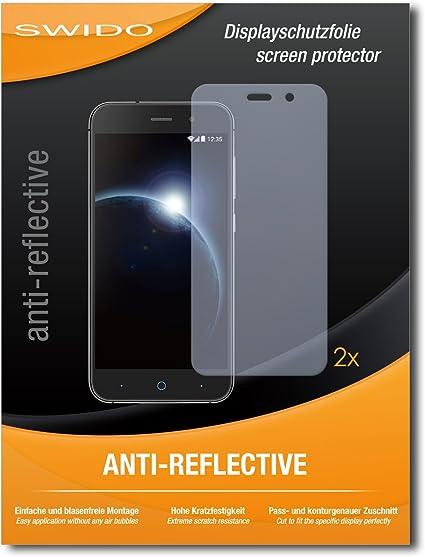 2 x SWIDO® Protector de pantalla ZTE Blade V6 Protectores de ...