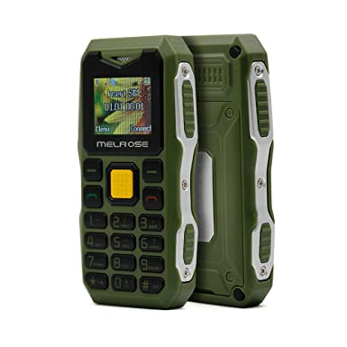 1be529626a Melrose S10 Long Standby Big Voice Flashlight FM Mini Small Size Pocket  Rugged mobile Phone(Green)