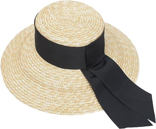 VORCOOL Sombrero de paja hecho a mano del sombrero de paja del ...