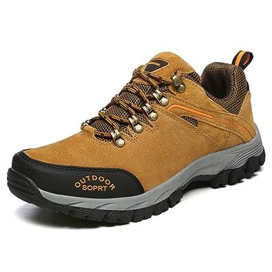 JOYTO Herren Wanderschuhe Trekking Hiking Sports Outdoor Weiche und Bequeme Rutschfeste Sneaker Armeegrün 47 wypb0iQi