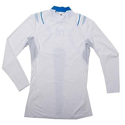 4f8ed2c484a7d Amazon.com : Adidas Techfit Powerweb Turtle Men's Long Sleeve Tee ...
