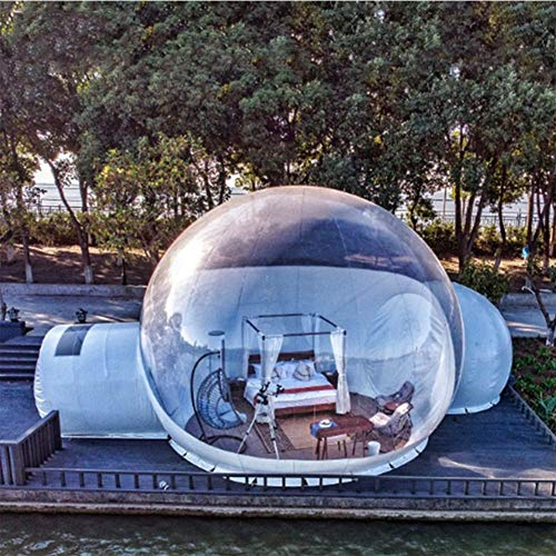 Inflatable Tent Outdoor Transparent Starry Bubble House 4m
