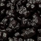 Black Cherry Gummy Bears 1LB Bag