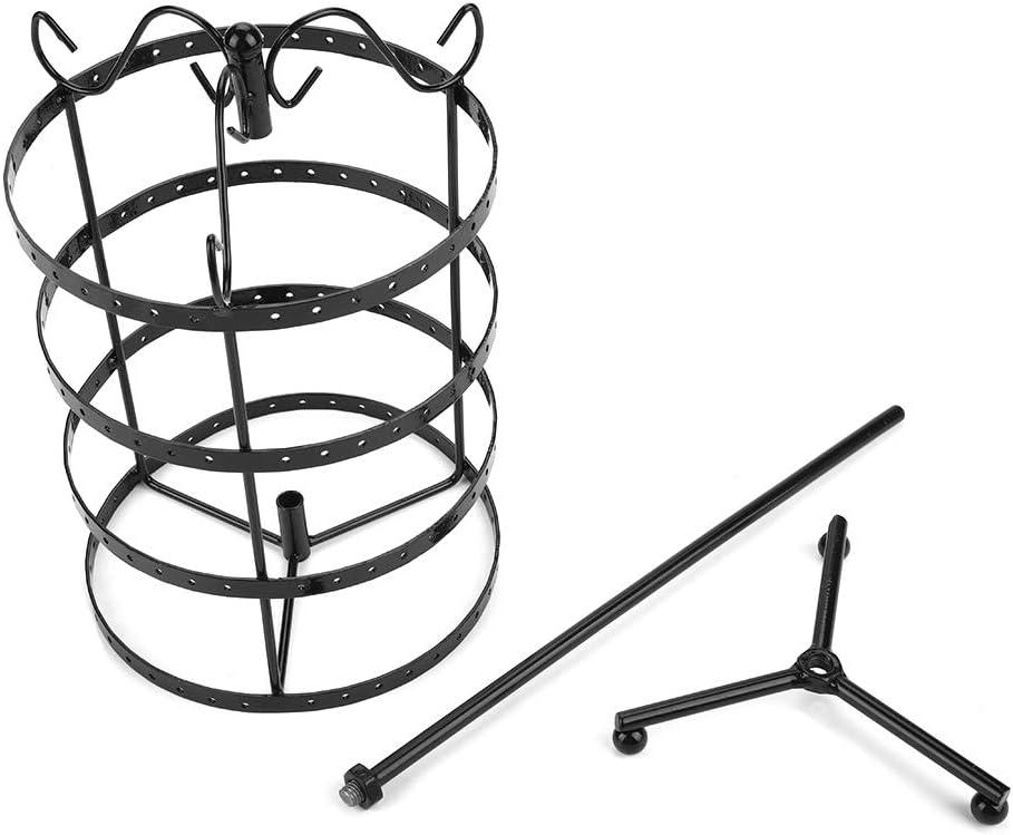 support rotatif tendance support pour bracelets Pr/ésentoir rotatif 144 trous boucles doreilles.