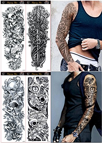 DaLin Sheets Extra Temporary Tattoos product image