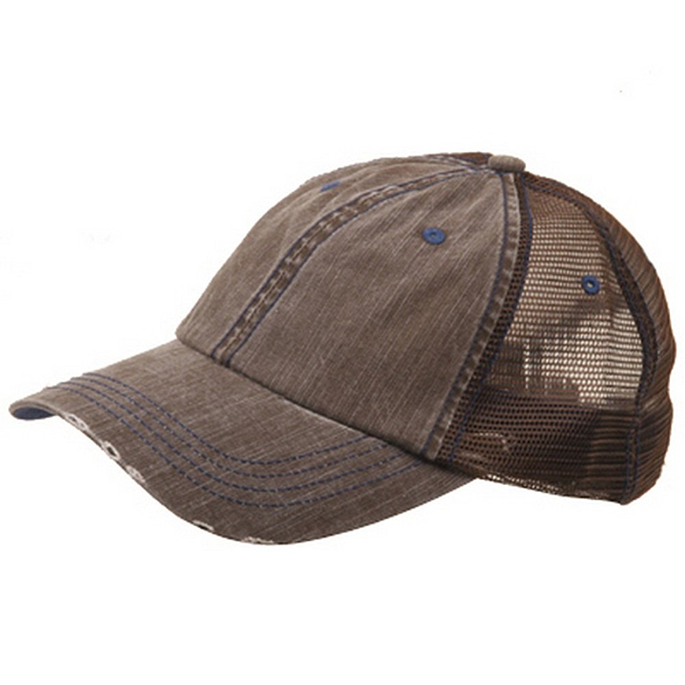 316543406b4 Low Profile Special Cotton Mesh Cap-Black W40S62B at Amazon Men s Clothing  store