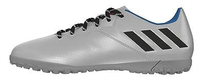 more photos 6860c 984cc adidas Messi 16.4 TF, Chaussures de Foot Homme, Gris-Plata (Plamet