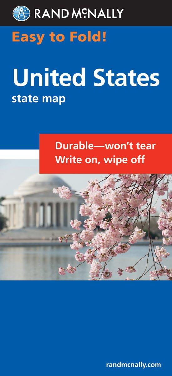 Easy To Fold United States Rand Mcnally 0070609994710 Amazon Com Books