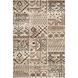 Safavieh Tunisia Collection TUN1311-KMK Ivory Area Rug, 4 feet by 6 feet (4′ x 6′) Review