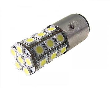 Standard Ersatzteile - Bombilla Led Ba20D 12V-35/35W / Smd: Amazon.es: Coche y moto