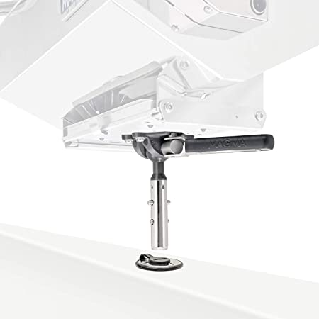 Magma Products T10-327, Mount, Flush Deck Socket w/Adjustable Levelock, Locking, (SD) Grill / (SM) Table, One Size