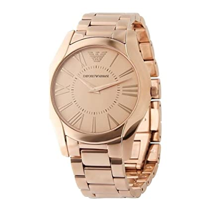 Amazon.com: Emporio Armani AR2061 Valente Superslim Rose Gold Watch: Everything Else